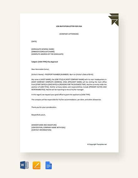 sample invitation letters visa ms