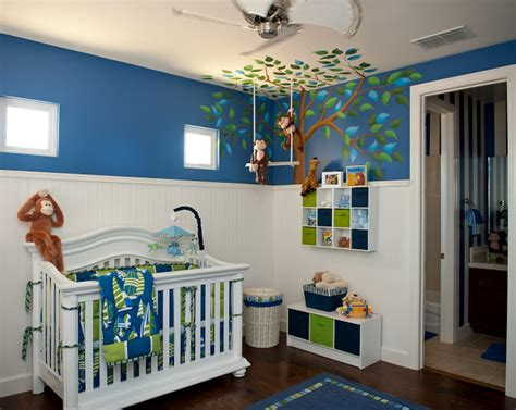 Boy Nursery Decor Themes Inspired Monday Baby Boy Nursery Ideas Clutter