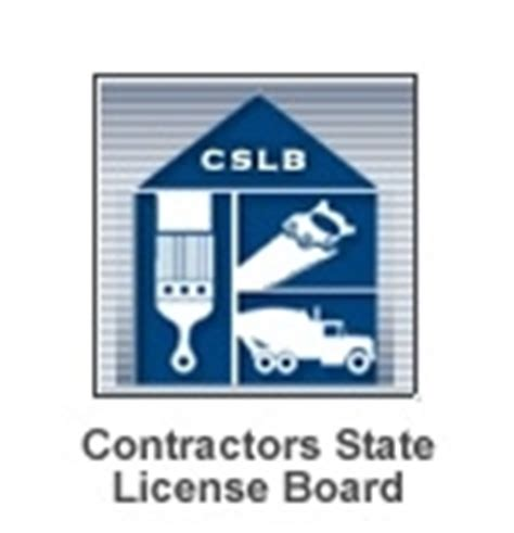 contractors state license board relevant links for painting