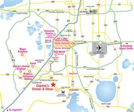 florida attractions map attractions map orlando area theme park map alcapones