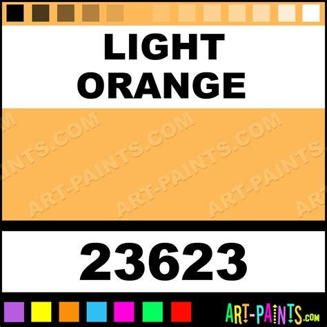light orange artist acrylic paints 23623 light orange paint light orange color craft smart