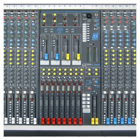 Mixer Allen Heath 32 Channel Bekas allen heath gl3300 32 channel mixer hire oxford sound hire