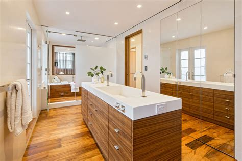new york apartment bathrooms stylish penthouse apartment in new york city s tribeca