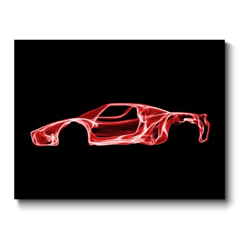 ferrari wall art ferrari enzo wall art canvas print