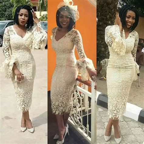 aso ebi lace styles latest aso ebi gowns blouse and skirts styles 2017 for