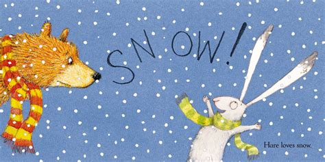 the snow picture book hare snow book by emily gravett official
