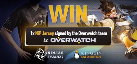 Overwatch Giveaway - blog news from kinguin net overwatch giveaway with ninjas in pyjamas