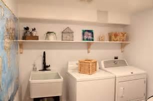 Wall Sconces Ikea Basement Renovation Traditional Laundry Room Boston