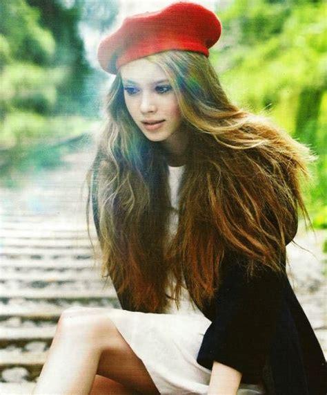 Beret   long hair :)   Casually Simple   Pinterest   Berets, Fashion hats and Red berets