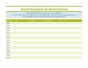 snack schedule template to be important documents and the o jays on