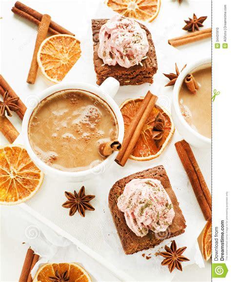 christmas time snacks snacks stock photo image of cupcake brown 34431910