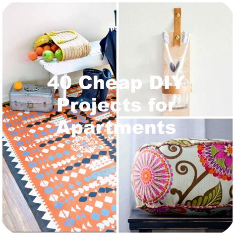 cheap craft projects 40 cheap diy projects for small apartments