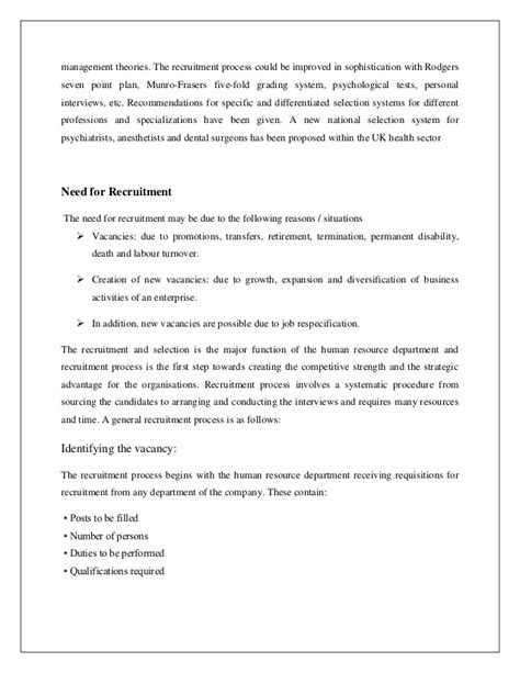 Hr Mba Internship by Summer Internship Project Hr Mba