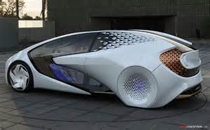 Toyota Concept Futuristic Toyota Concept I Unveiled At 2017 Ces