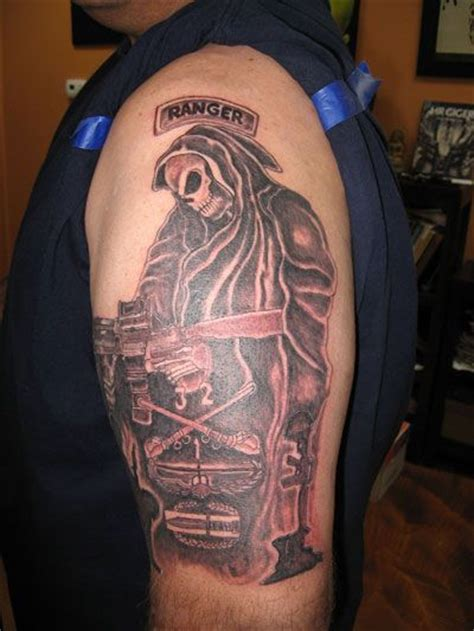 army ranger tattoos 21 best images about tattoos on the skulls