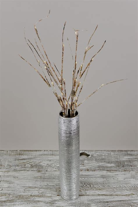 2 led birch branches 30 lights 39 quot battery operated timer