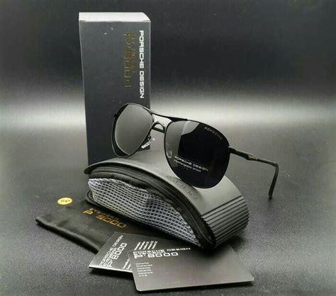 Kacamata Porsche Polarized jual kacamata porsche design aviator polarized limited