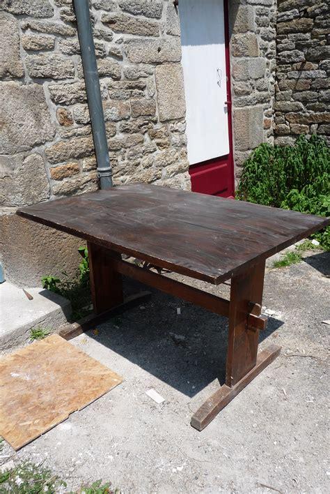 renover une table en bois 4622 r 233 nover une vieille table en bois diy family