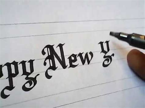 how to write new year greeting how to write happy new year greetings impressive calligraphy