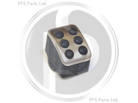 mercedes ml w164 05 11 aluminium parking brake pedal cover