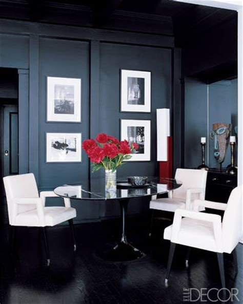Interior Design Black Walls by 20 Black Room Design Ideas Decorating With Black