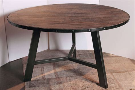 steel dining table base elm and steel base dining table omero home
