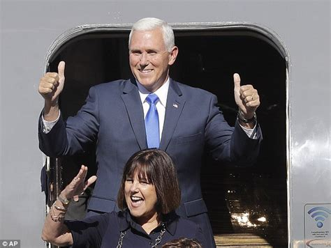 pence and wife to get tour of new digs donald trump says he hasn t asked mike pence to say