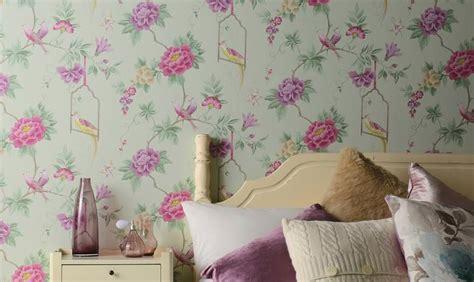 tappezzerie inglesi papel pintado dormitorio de ensue 241 o papel dise 241 ado con