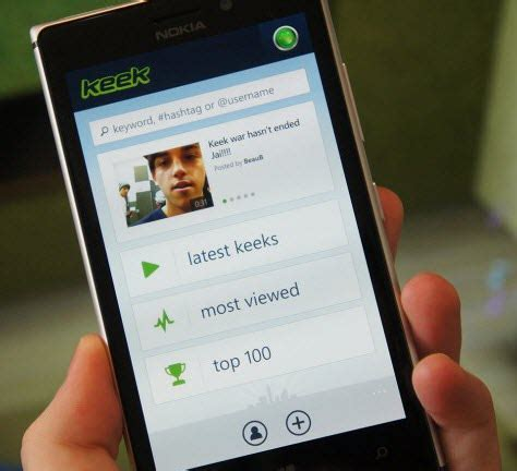 Keek Search Keek Popular App