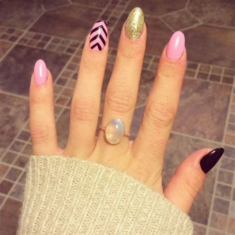All Nail Designs by 50 Beautiful Pink And Black Nail Designs 2017