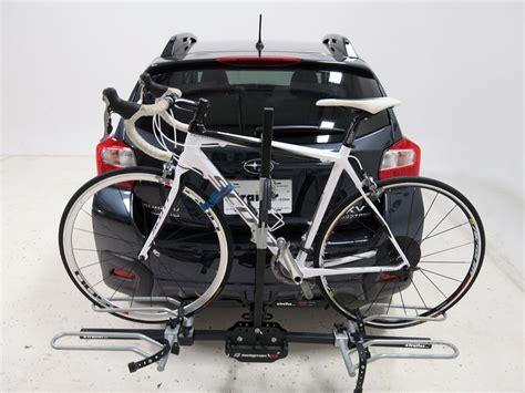bike rack subaru crosstrek subaru xv crosstrek swagman xtc 2 2 bike platform rack for