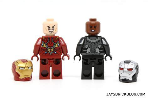 Lego Iron 46 Civil War Ori review lego 76051 airport battle