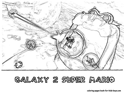 transmissionpress wii super mario galaxy 2 coloring pages