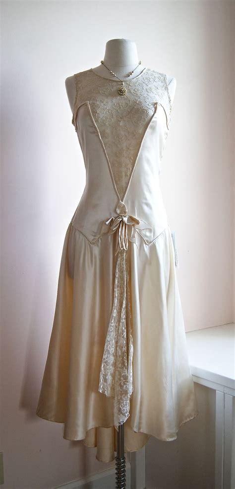 1920s Flapper Wedding Dresses | vintage 1920 s wedding dress 1920s pinterest