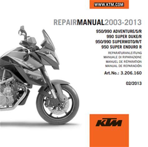 Ktm Manuals Aomc Mx Ktm Cd Repair Manual 950 990 Lc8 03 13
