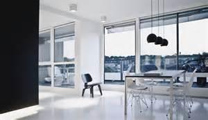penthouse designs ultra modern black and white copenhagen penthouse design digsdigs
