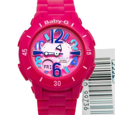 casio baby g pink womens bga 171 4b1dr bga171
