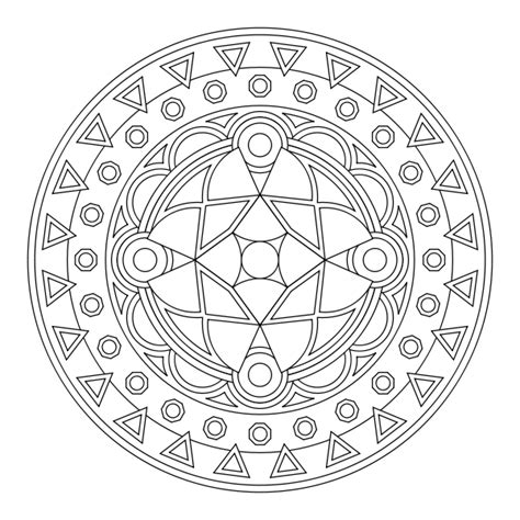 coloring pages aztec designs free coloring pages of aztec mandalas