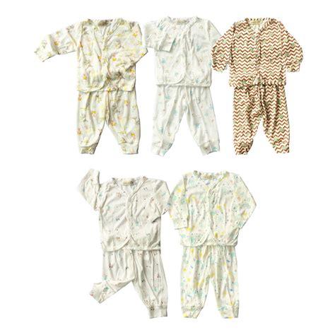 Baby Boy White Shirt Set Impor Setelan Baju Cowok Motif Mice boy and pyjamas size l 3 4t kicau kecil