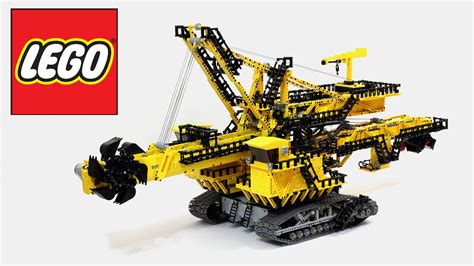 lego technic wheel excavator lego technic wheel excavator not a 42055 set