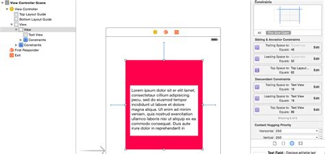 uitableview uiview encapsulated layout height ios how to change uiview s height using auto layout