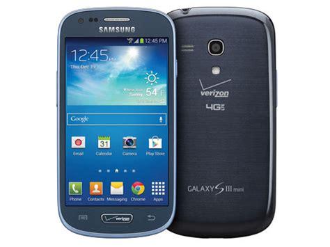 galaxy  iii mini  gb verizon phones sm gvmbavzw samsung