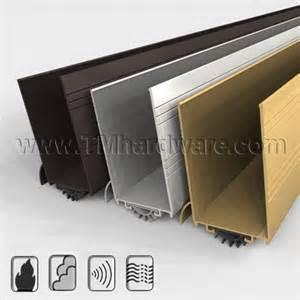 Garage Door Kick Plate Aluminum Casing With Kick Plate And Drip Design Door Shoe With Rubber Fingered Seal Www