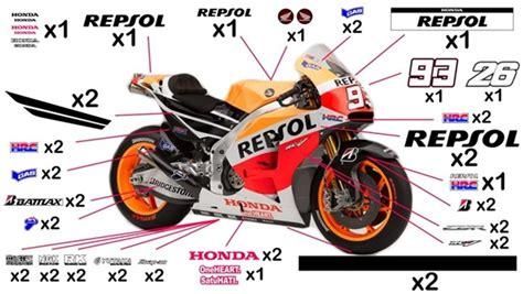 Sticker Honda Repsol by Stickers Honda Repsol Motogp 2015 Cbr1000rr Fireblade