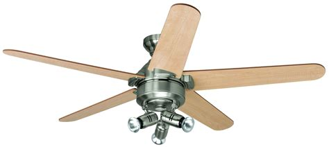 interior ceiling fans with lights decor brushed nickel ceiling fan with lighting for