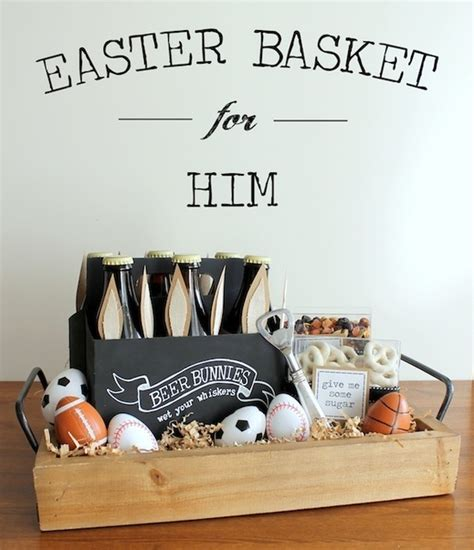 how to make a basket for him easter basket for him holidays