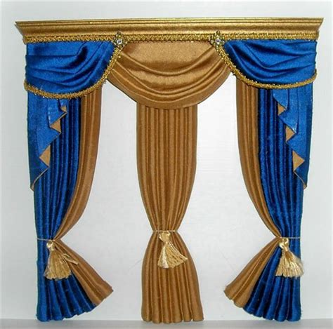Blue And Gold Valance Unavailable Listing On Etsy