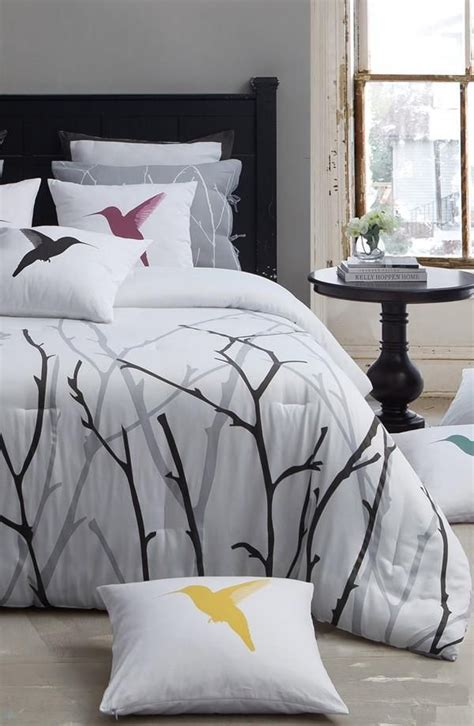 bird comforter treetop and bird theme bedding home base pinterest