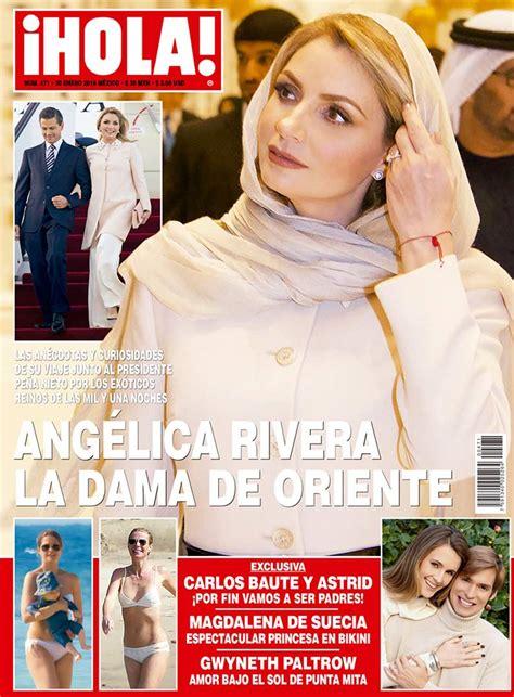 imagenes revista hola angelica rivera telenowele