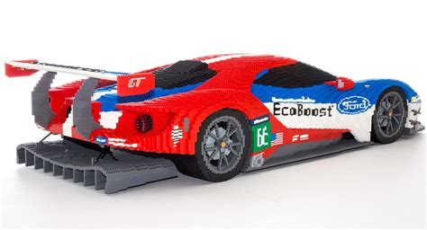 lego ford lego ford gt made from 40 000 bricks 95 octane